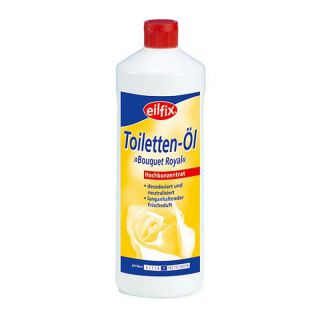 Becker Chemie Eilfix Toilettenöl Bouquet Royal Konzentrat 1000 ml