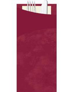 Duni Serviettentaschen Sacchetto 190x85 mm bordeaux 5x30 Stck