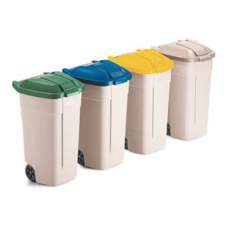 Rubbermaid Deckel f�r Rollcontainer gelb