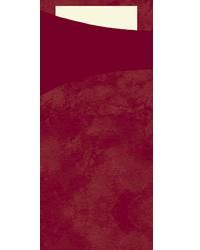 Duni Serviettentaschen Sacchetto 190x85 mm bordeaux 5x100 Stck