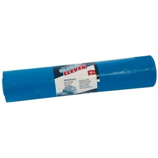 CLEAN and CLEVER Abfallsack PRO189 LDPE blau 70 L 10x25 Stck