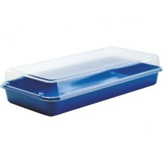 Duni Lunchbox blau transparent 1100ml 160 Stck