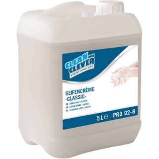 CLEAN and CLEVER Seifencreme classic PRO92-8 5 L