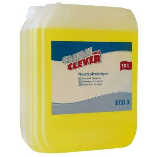 CLEAN and CLEVER Neutralreiniger ECO3 10 L